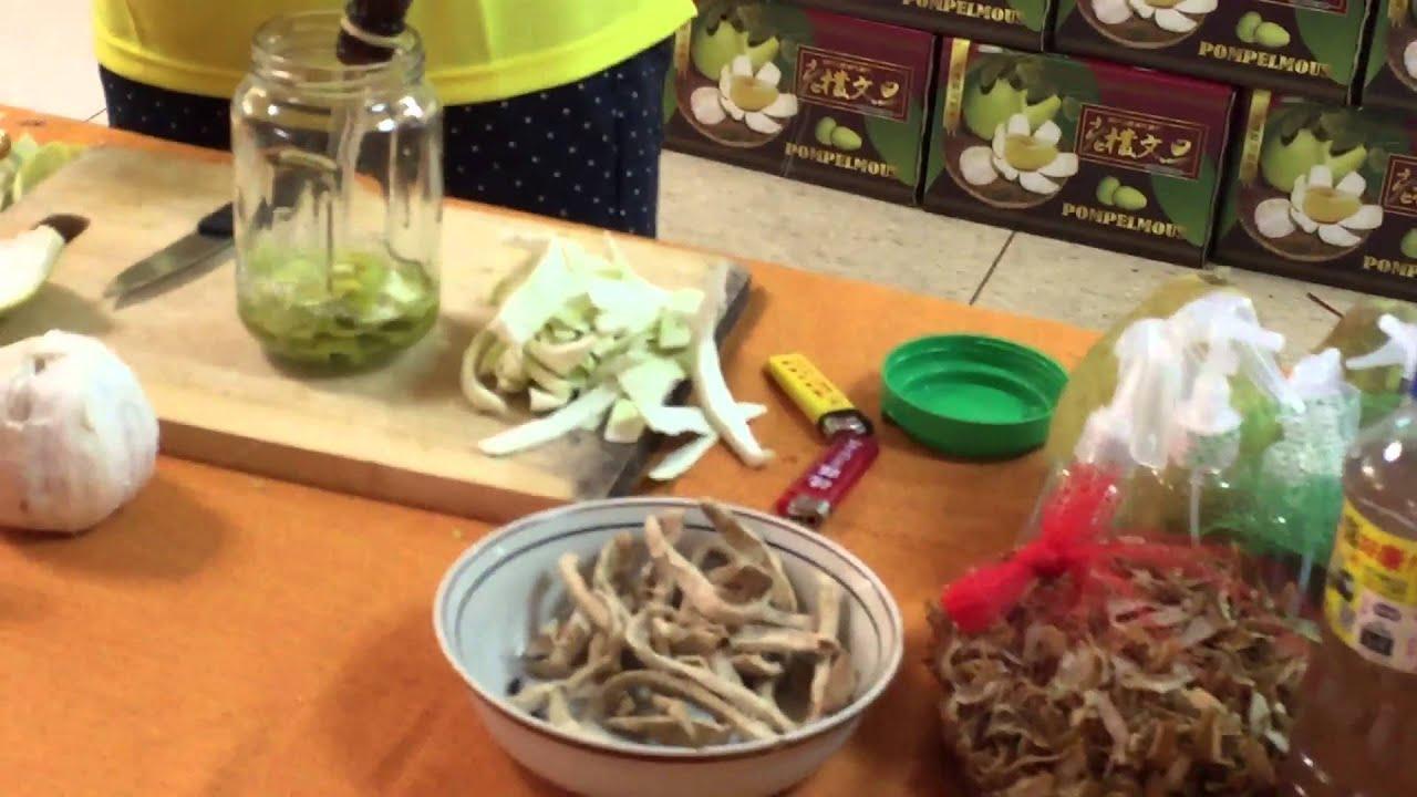 自製柚子皮精油防蚊液