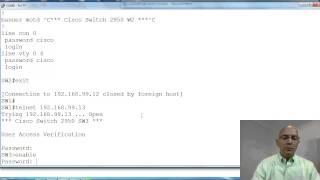 CS071 12.17 VLAN - Lab PING Telnet entre Switches
