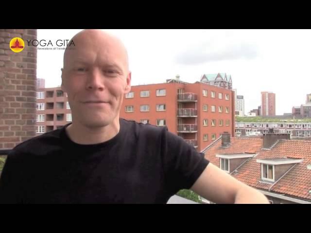 Yoga Gita testimonial by Arjen