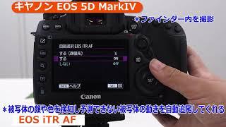 キヤノン デジタル一眼レフカメラ EOS 5D MarkIV (カメラのキタムラ動画_Canon)