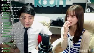 161221 2 여캠 BJ미유와 함께하는 달달한 실내게스트 방송  KoonTV