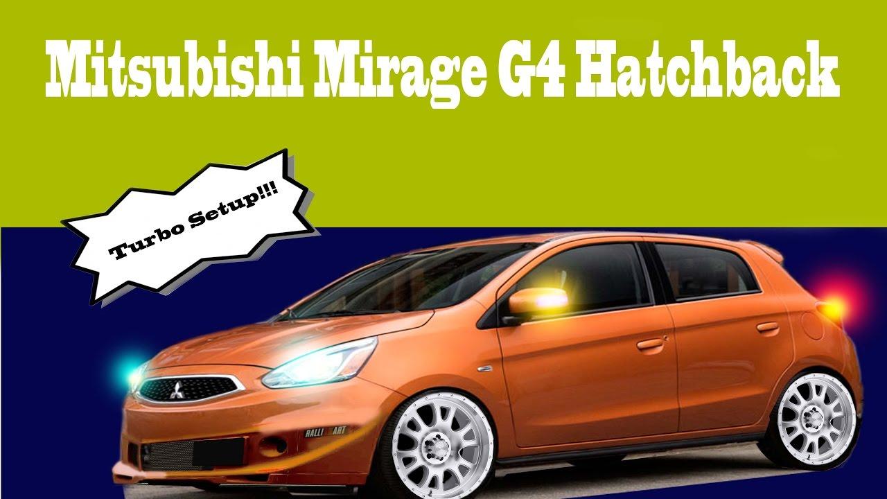 mirage mitsubishi hatchback modified turbo
