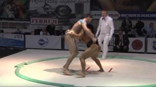 European Sumo Championship Krotoszyn Poland 2016: Category 92 kg