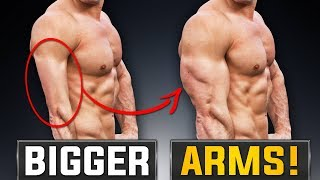 2 Reasons Your Arms Stopped Growing!   FIX NOW!