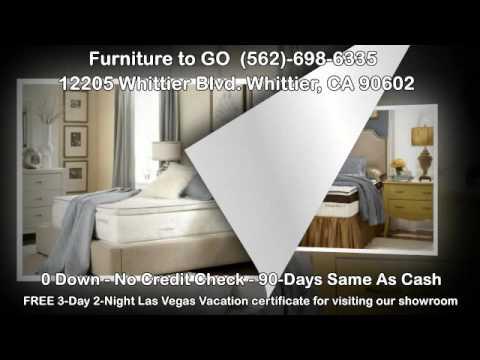 Mattresses Furniture To GO Whittier, CA (562) 698 6335