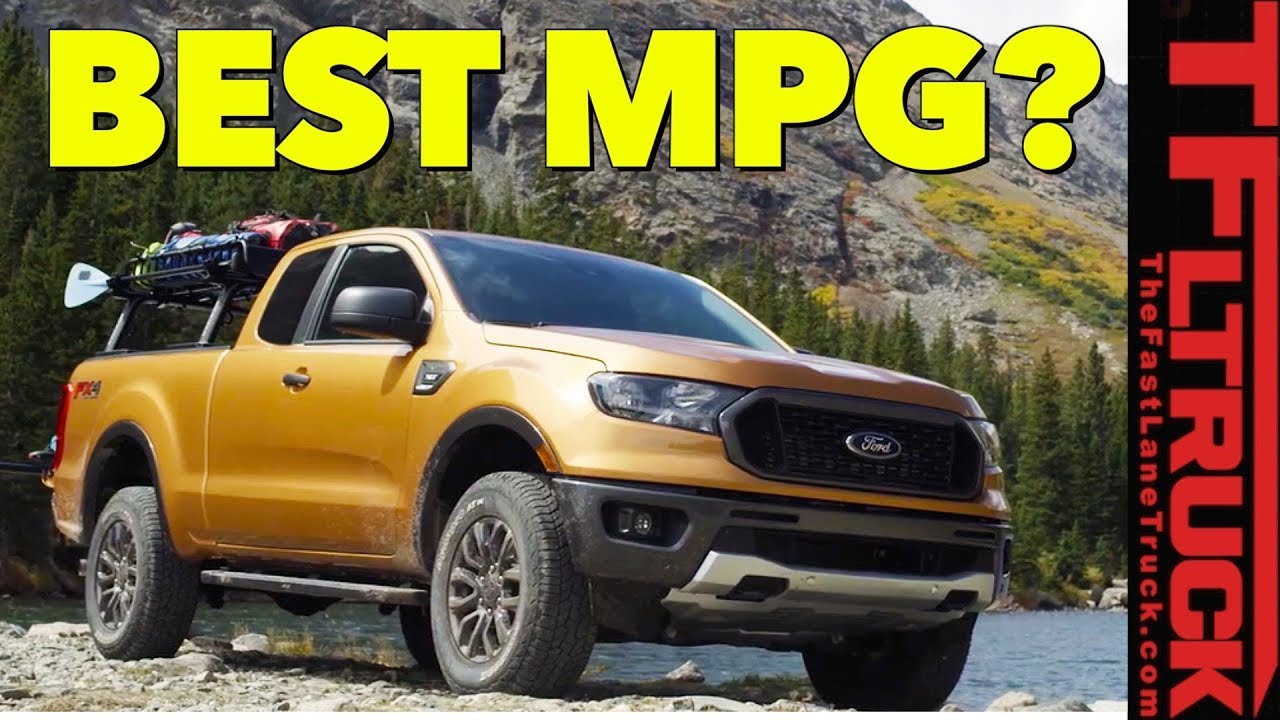 Breaking news how does the 2019 ford ranger mpg compare to the competition