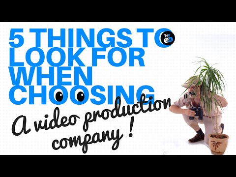 Video production teams - how to find the right video production company