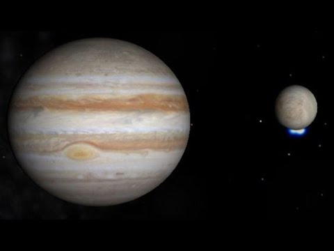 De La Vie Sur Un Satellite De Jupiter Youtube