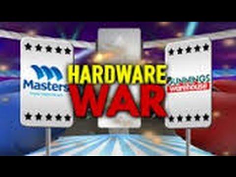 HARDWARE STORE WAR (Bunnings v Masters)