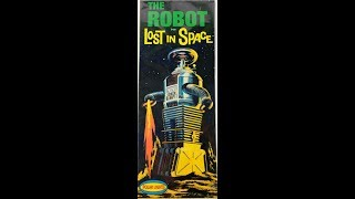 How to Build the Lost In Space B9 Robot Polar Lights Model Kit #5030 Review