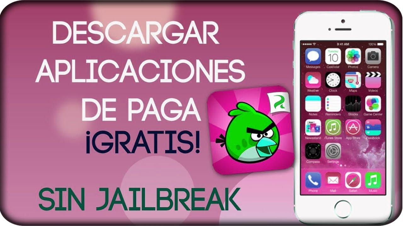 descargar aplicaciones iphone gratis jailbreak