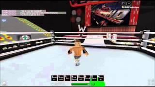 WWE Roblox: John Cena Gives CM Punk a Last Warning