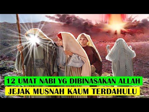 12 UMAT PARA NABI Yg Dimusn4hkan ALLAH -jejak Bangsa Terdahulu Dalam AL QUR'AN Yg Dibin4sak4n ALLAH