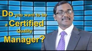 do you want to be a certified quality manager cmq oe