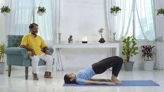 Setu Bandhasana - Yoga for Men's Fitness, premature ejaculation, PE