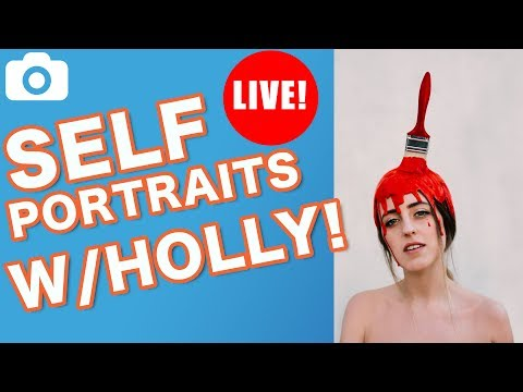 The Art Of Self Portrait Photography With Holly Rose Stones!