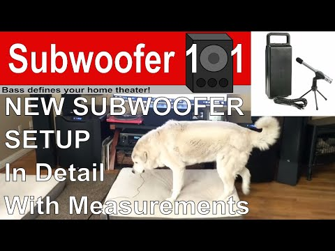 DETAILED New Subwoofer Setup (With Measurements and Mistakes)