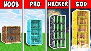 Minecraft Noob Vs Pro Vs Hacker Vs God  Block Prison House