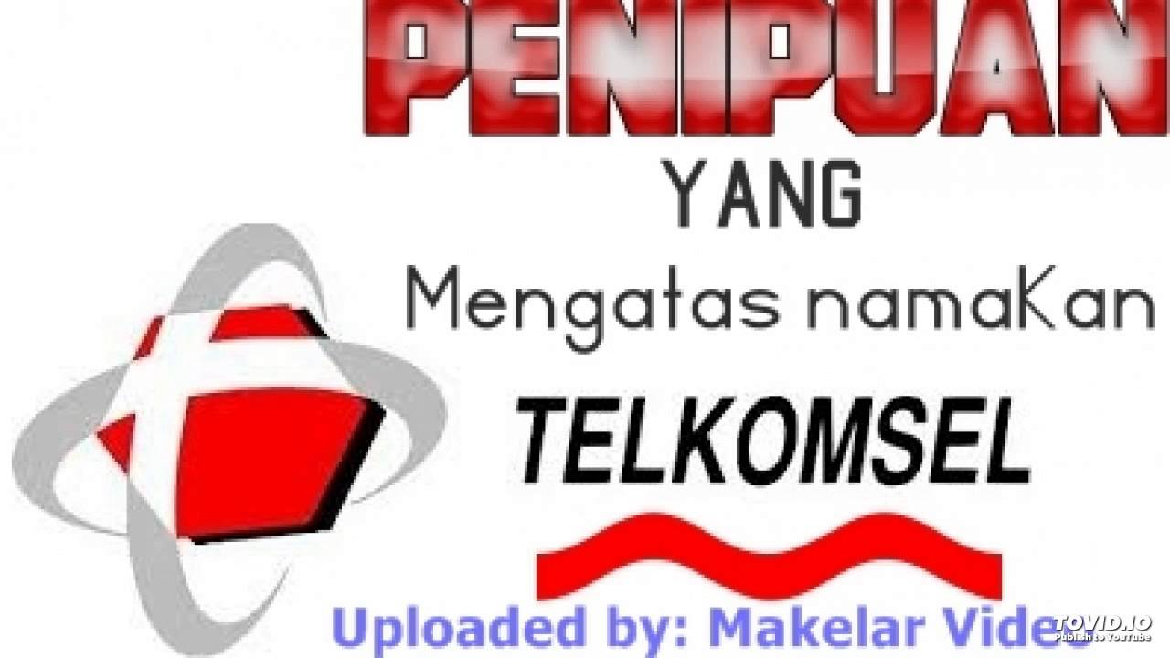 Penipuan Undian Berhadiah Telkomsel Youtube