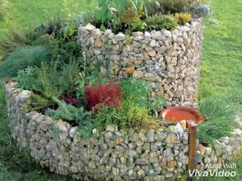 Raised Beds Pebbles Stone For Garden Outdoor