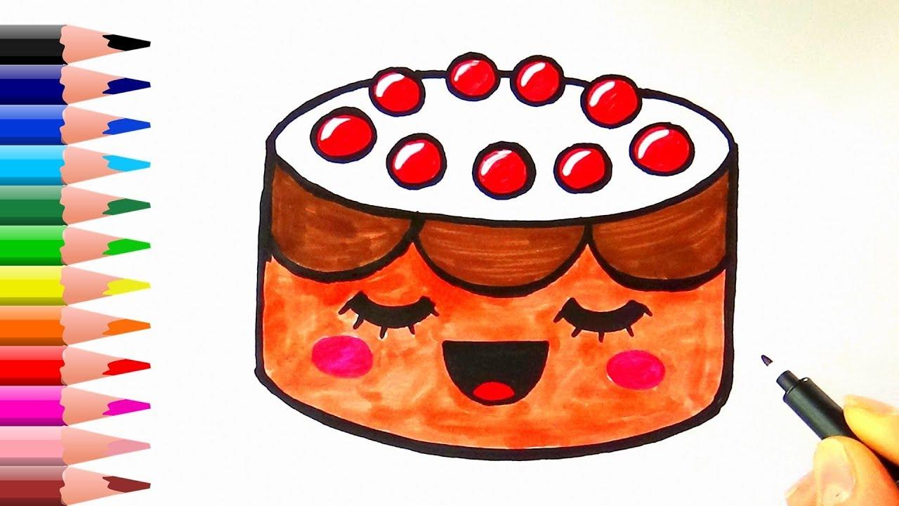 Pasta Nasil Cizilir Kolay Pasta Cizimi Youtube