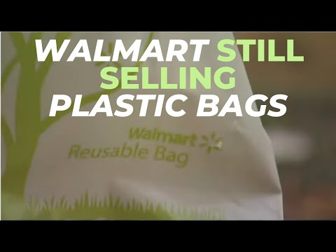 Carson - Why can Walmart sell plastic bags if they are banned in Oregon?