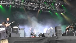 Cattle Decapitation - Lifestalker live @ Party san 2012