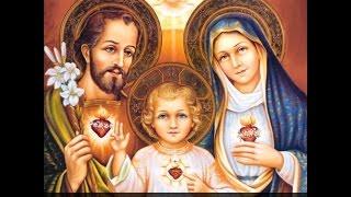 Sagrada Família de Nazaré - Jesus, Maria e José - Minha família vossa é!