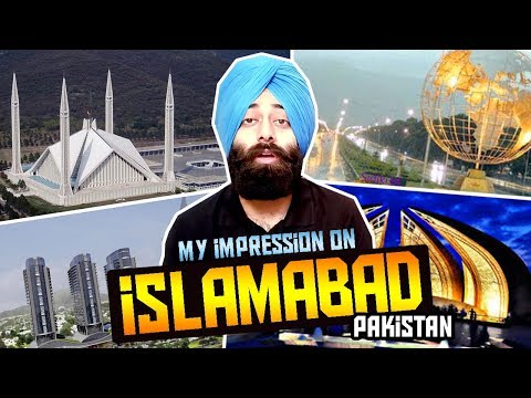ISLAMABAD : Most Beautiful Capital City of PAKISTAN - My Reaction #149