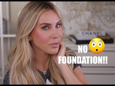 My 5 Minute NO FOUNDATION Makeup Routine | Tips to Look Flawless Fast