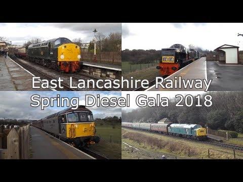 East Lancashire Railway Spring Diesel Gala 2018
