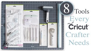 8 Tools Every Cricut Crafter Should Have & I