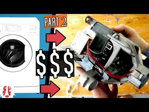 15 Things You Can Reuse Inside A Dead Washing Machine [WMTeardown Part 2/3] #Tech #FreeStuff