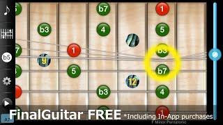 FinalGuitar FREE プロギタリスト監修の無料iPhoneギターアプリ