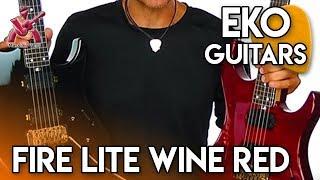 FIRE Lite Wine Red solo Audio Sample - Eko Guitars & Massimo Varini