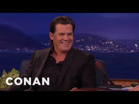 Josh Brolin On Playing Thanos   CONAN on TBS
