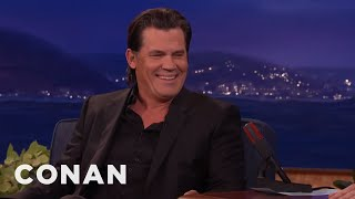 Josh Brolin On Playing Thanos  - CONAN on TBS