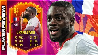 FIFA 21 HEADLINERS UPAMECANO (84) PLAYER REVIEW! FIFA 21 ULTIMATE TEAM!
