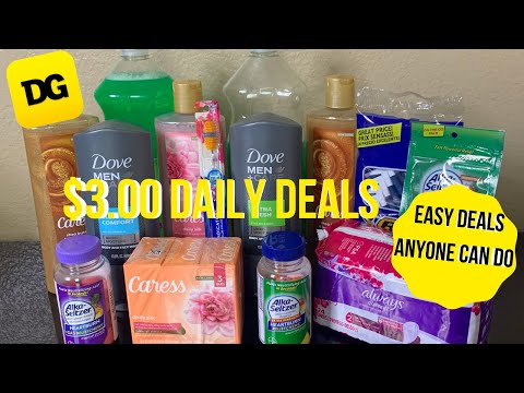Dollar General Daily Deals  | $3.00 Deals | Cheap Deals | Digital Coupons | Budget Boss Coupons