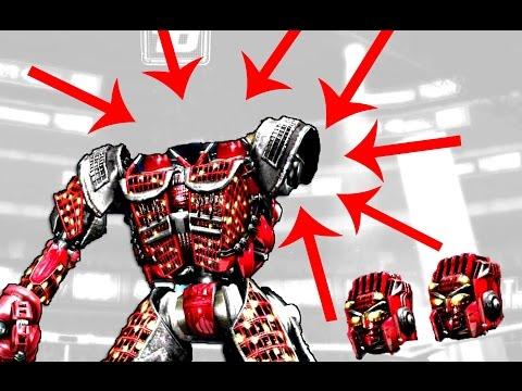 Real Steel Broke Head & Hands - AMBUSH VS Twin Cities Crazy BATTLE (Живая сталь) XBOX | PS3