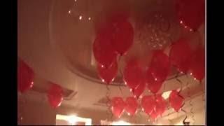 Как сделать сюрприз на 14 февраля  Романтический ужин. Красиво украсить комнату #14февраля #сюрприз