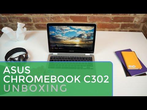 ASUS Chromebook Flip C302CA Unboxing