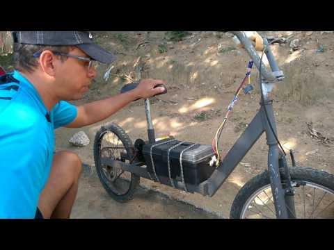 Bike Eletrica Com Motor De Esteira