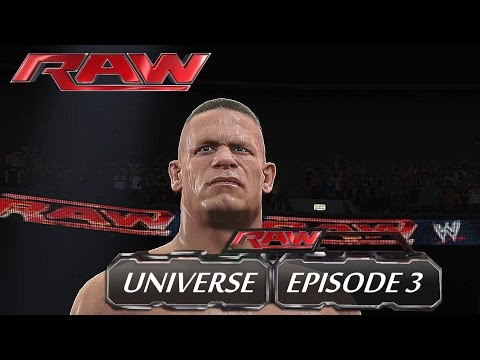 WWE 2K15 - Raw (Episode 3) - Universe [HD] (Reupload)