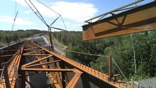 Canam-ponts - Pont de la rivière Famine (autoroute 73)