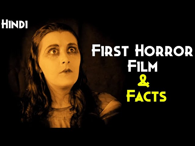World's First Horror Movie Facts & History Of Horror Film | German Expressionism | Dr.Caligari(1920)
