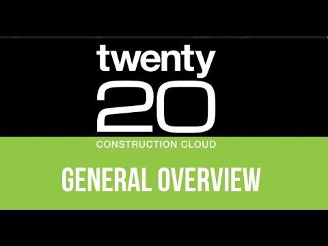 Twenty20 Construction Cloud Overview (15 min)