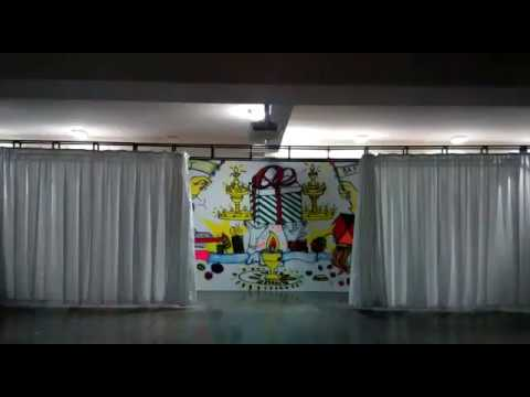 motorised stage curtains
