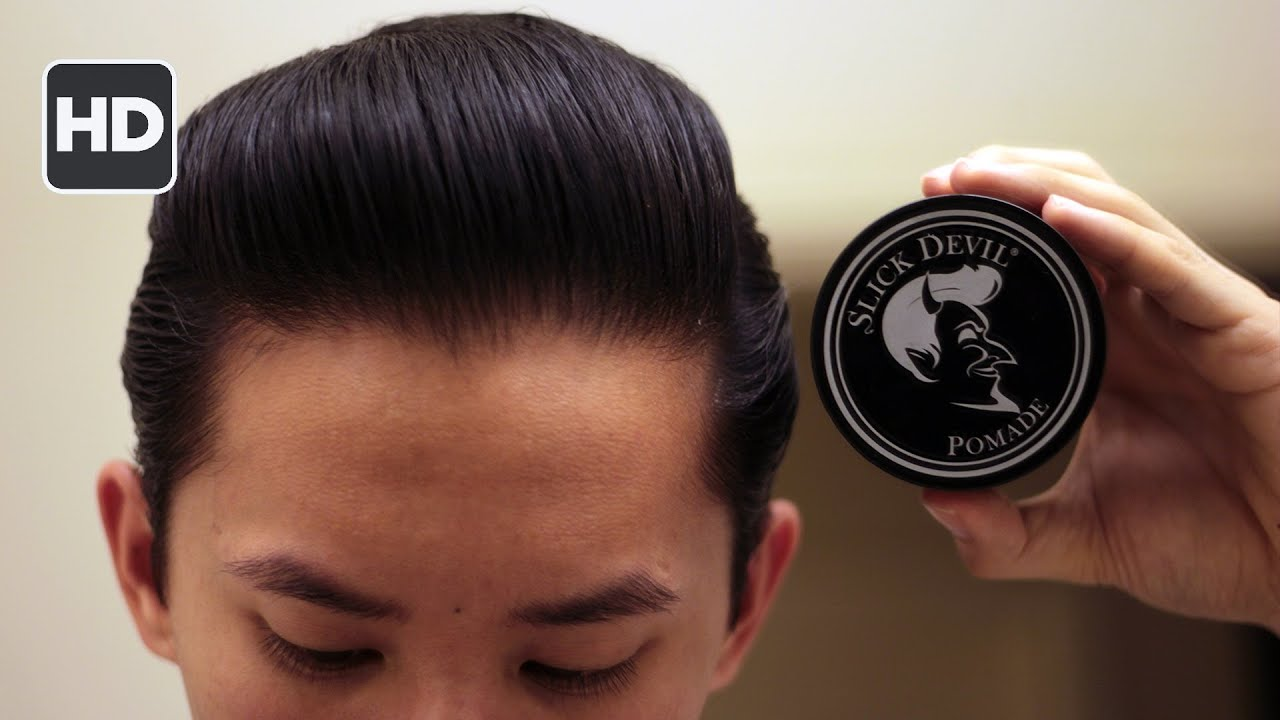 slick devil pomade review -- water-based for water-based haters
