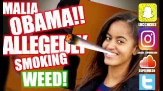 Malia Obama Was Allegedly Smoking Weed At Lollapalooza Reaction ✔